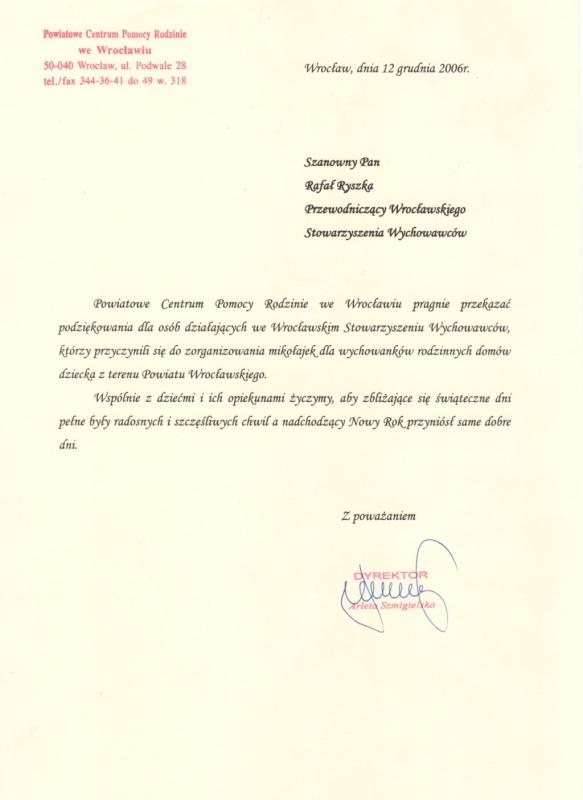 Powiatowe Centrum Pomocy Rodzinie we Wrocławiu